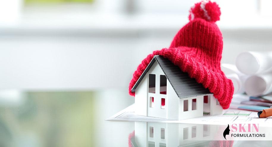 Winter home décor
