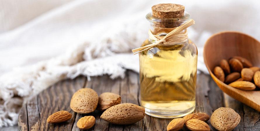 Almond oil and Vitamin E