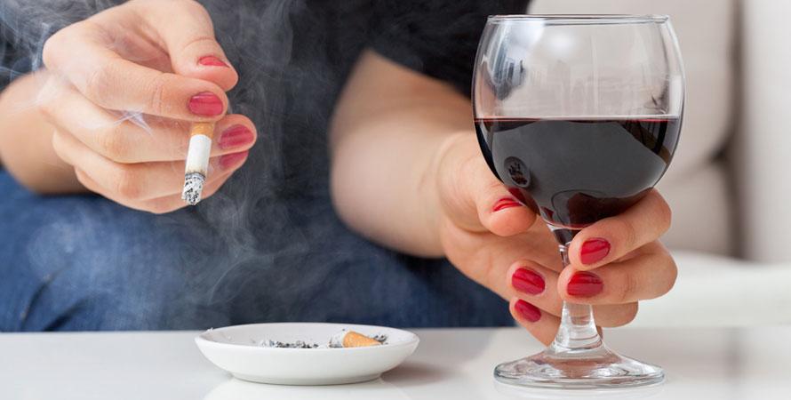 Smoking and alcohol