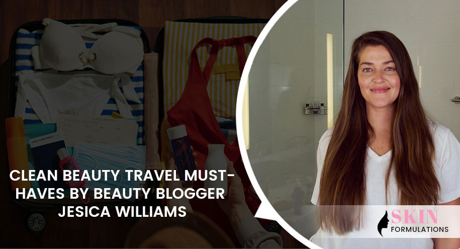 Jesica Williams Shares Her Clean Beauty Travel Must-Haves