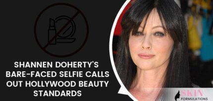 Shannen Doherty's Bare-faced Selfie
